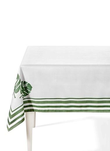 Morhipo Home Masa Örtüsü 150x150 cm Mostera Yeşil